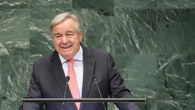 Генералният секретар на ООН: Светът да обяви извънредно положение
