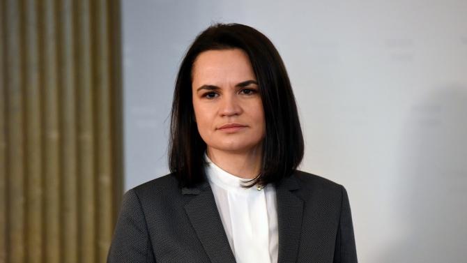 Тихановска призова ЕС да разшири санкциите срещу властите в Беларус
