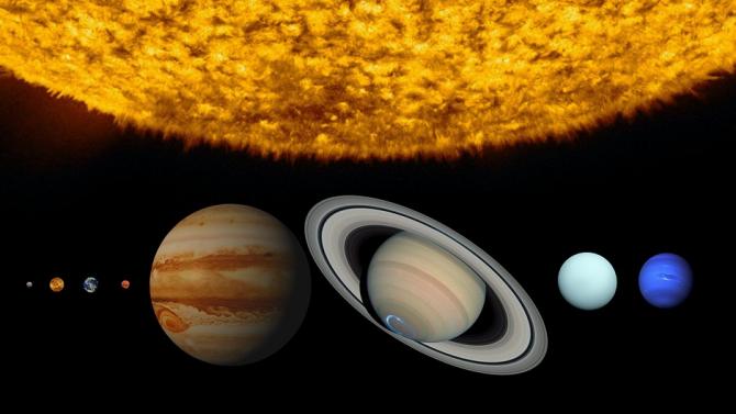 """Юпитер и Сатурн се """"сближат"""" в небето на 21 декември"""