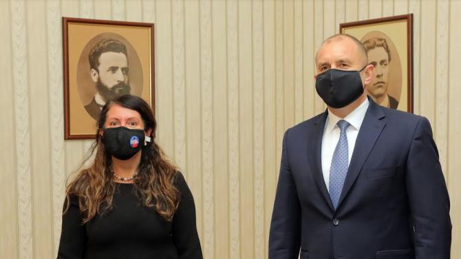 Президентът Румен Радев се срещна с посланик Херо Мустафа