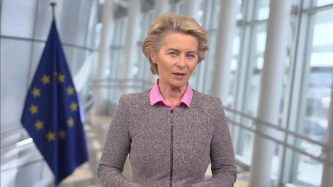Фон дер Лайен: Всички страни в ЕС ще започнат ваксинацията в един и същи ден