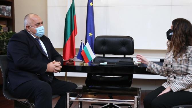 Бойко Борисов се срещна с Херо Мустафа