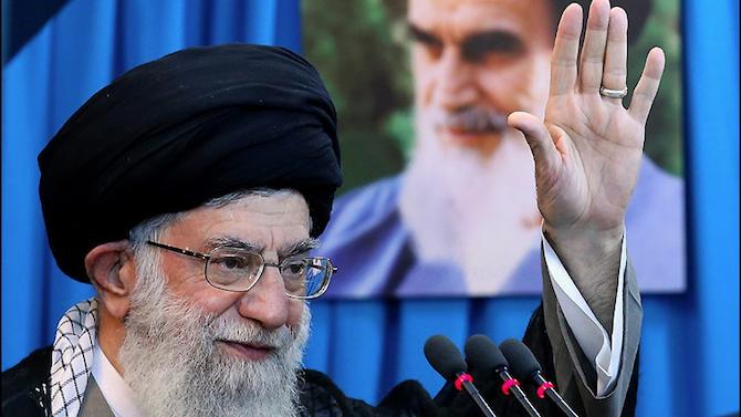 Върховният лидер на Иран аятолах участва днес в първата си