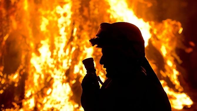 Пожар почти уби мъж в Горна Студена