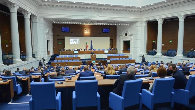 НС прие законопроекти за промени в Закона за мерките и действията по време на извънредното положение
