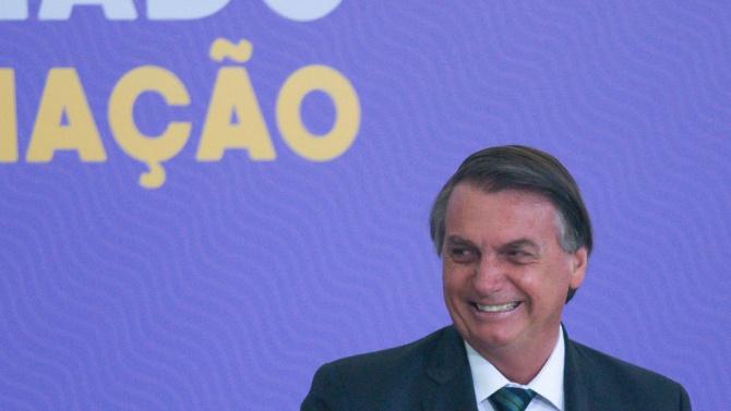 Противоречивият президент на Бразилия Жаир Болсонаро отново предизвика сензация към