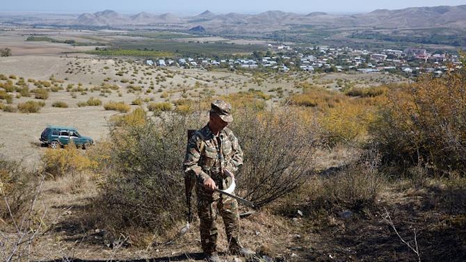 Мина уби руски офицер в Нагорни Карабах