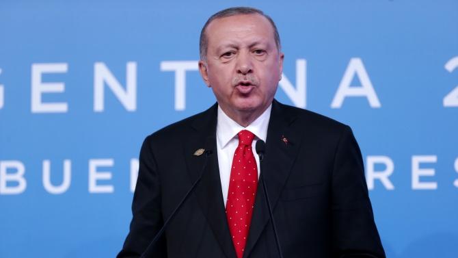 Ердоган: Заплашващите Турция със санкции ще бъдат разочаровани