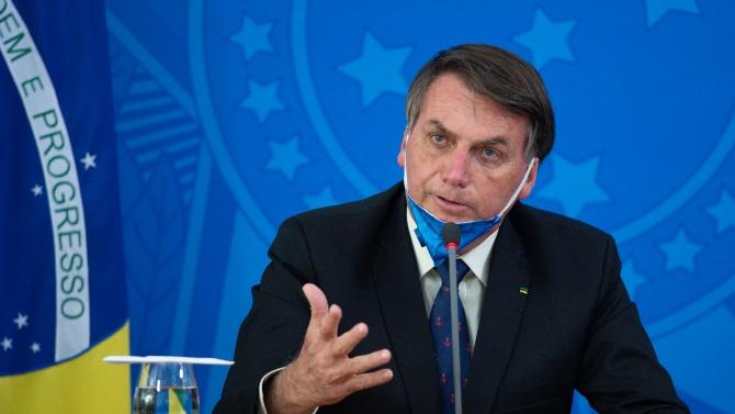 Президентът на Бразилия Жаир Болсонаро изрази несъгласие с бързането по