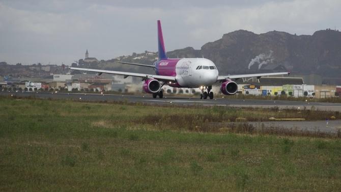 Wizz Air отменя всички полети между България и Великобритания днес и утре