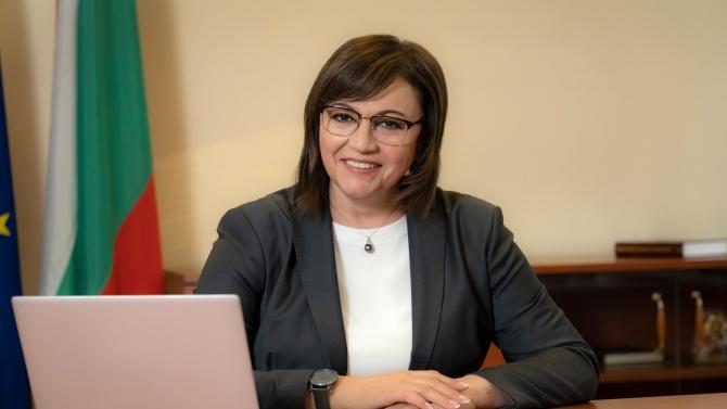 Съдът вписа Корнелия Нинова за председател на БСП