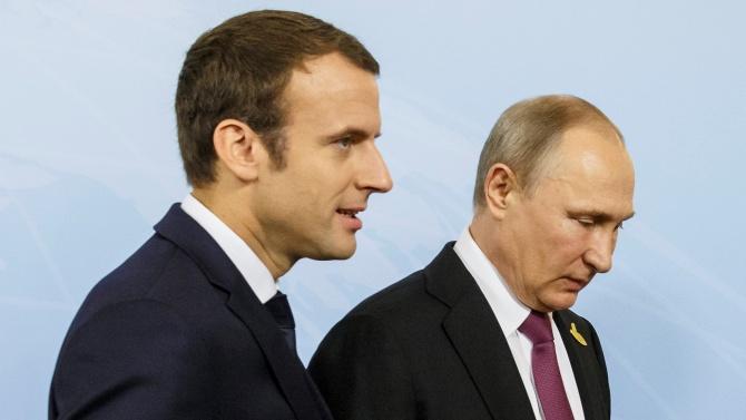Путин и Макрон обещаха да работят за поддържане на мира в Нагорни Карабах