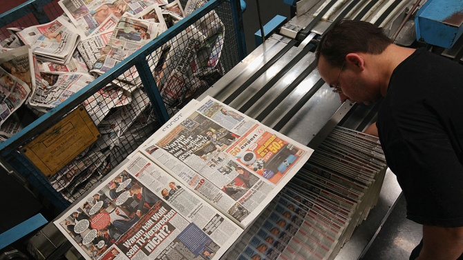 Германски вестници отпечатаха извънредни издания след кибератака