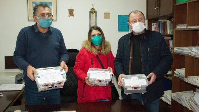 Мотористи събраха 1500 лева за деца с увреждания в Силистра
