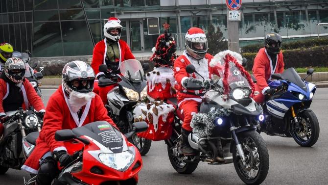 """""""Мото Коледа"""" се проведе във Велико Търново"""