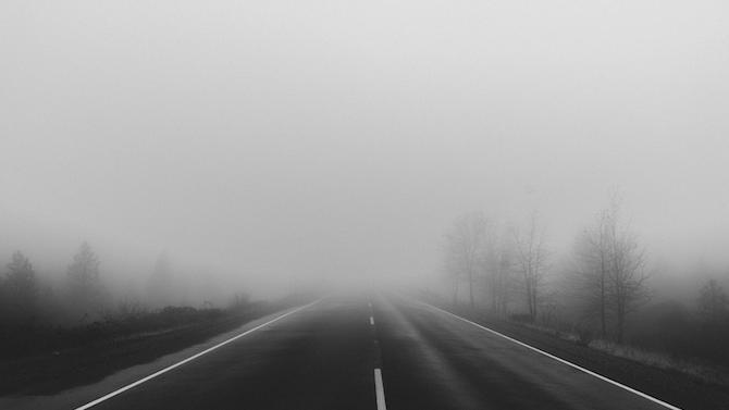 """Мъгла ограничава видимостта при тунел """"Витиня"""""""