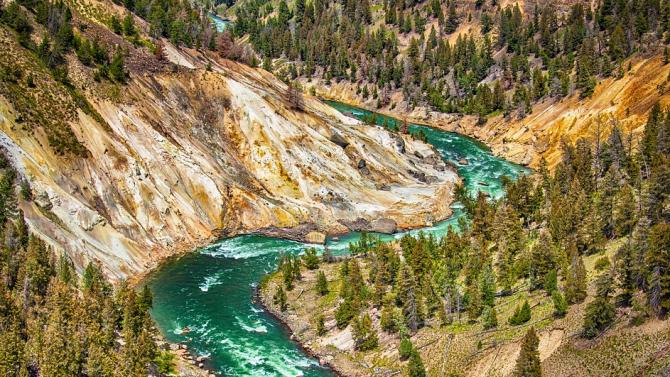 Една трета от реките в САЩ променят цвета си