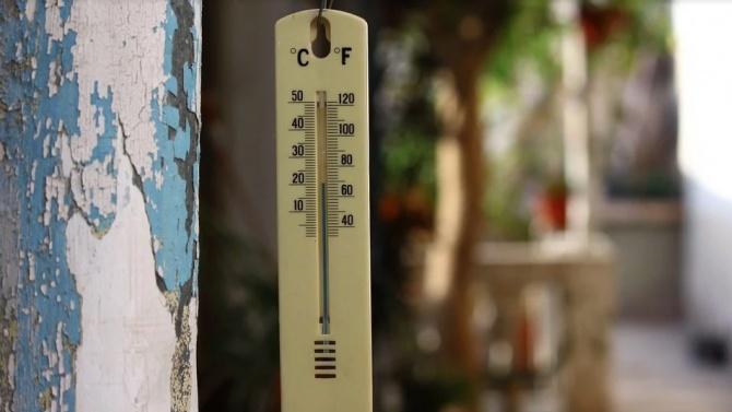 20-годишен температурен рекорд бе подобрен в Шумен