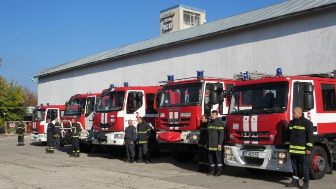 Награждават пожарникарите, предотвратили инцидентa на гара Борово