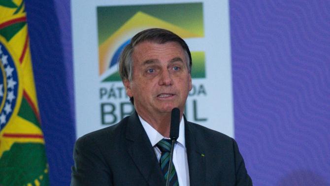Президентът на Бразилия Жаир Болсонаро направи коментар във връзка с