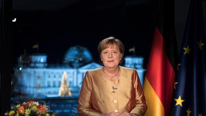Ангела Меркел в последното си новогодишно обръщение като канцлер: 2020 година бе най-трудна за мен