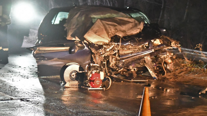 Тежка катастрофа на пътя София - Варна, има загинал