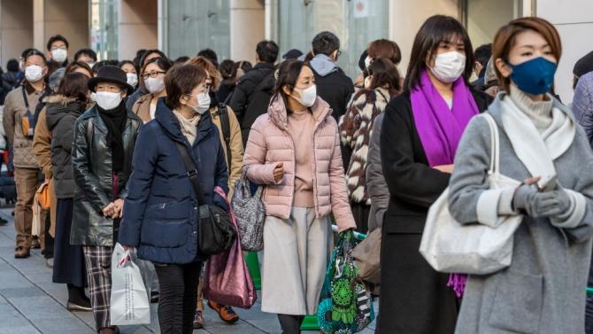 Властите в Токио: Не излизайте без остра нужда навън
