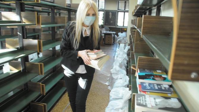 Местят 60 000 книги в нова сграда на библиотека в Бургас