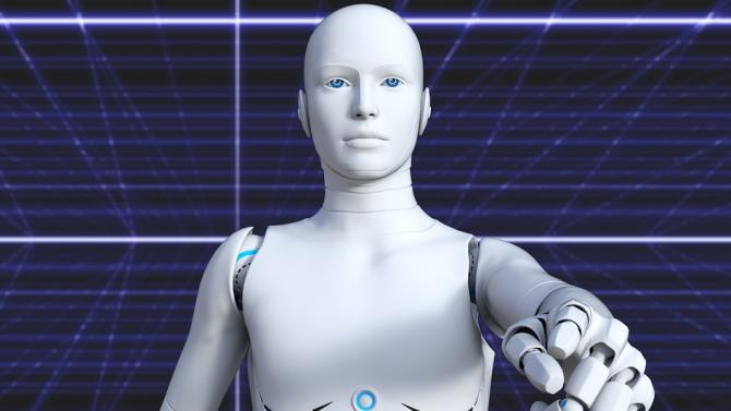 Два робота-библиотекари се скараха