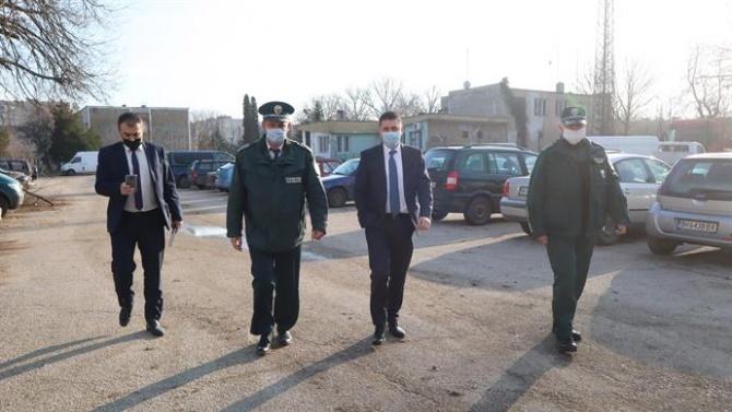 Министърът на вътрешните работи посети днес Видин, Кула и Белоградчик.
