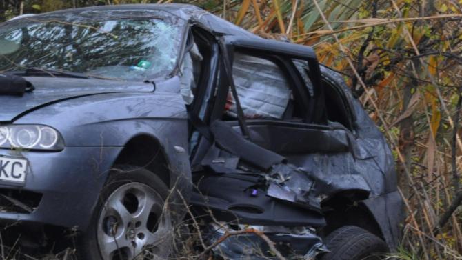 Млад мъж загина при пътно меле в село Българево