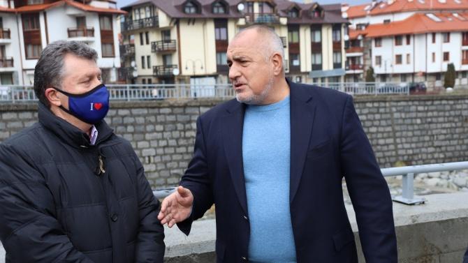 Борисов отново на живо във фейсбук, отиде в Банско