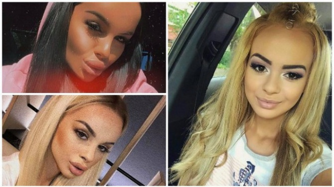 Скандалната Сузанита на 18: Вижте всичките ѝ трансформации досега!