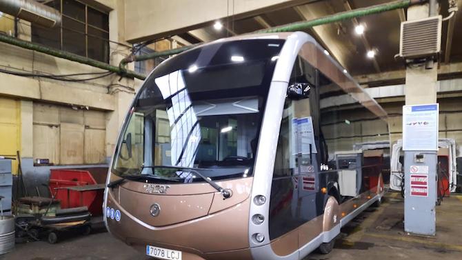 Футуристичен електробус тестват в София