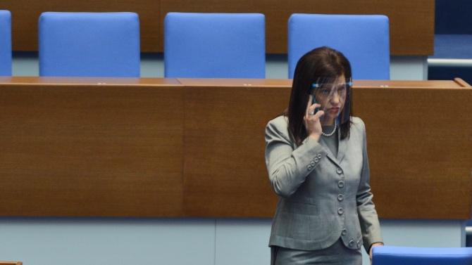 Дариткова сподели, че има законопроект за гласуване на лицата, поставени под карантина или настанени в болница