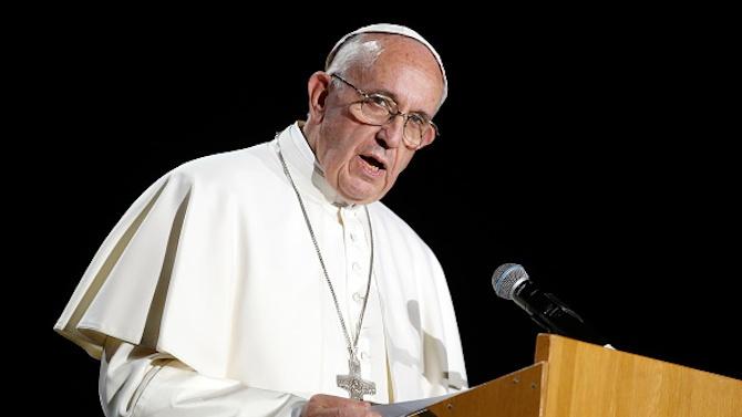 Папата призова САЩ да защитят демократичните ценности