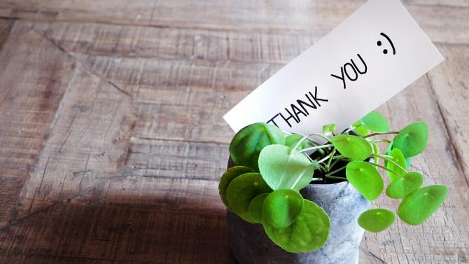 """Днес е Световният ден на думата """"благодаря"""""""