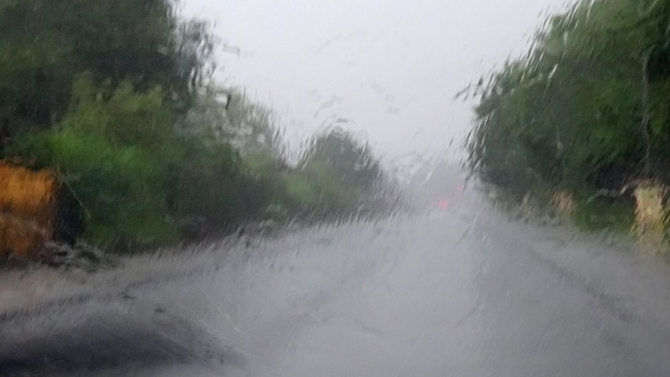 В Добрич са паднали 24 литра валежи на квадратен метър