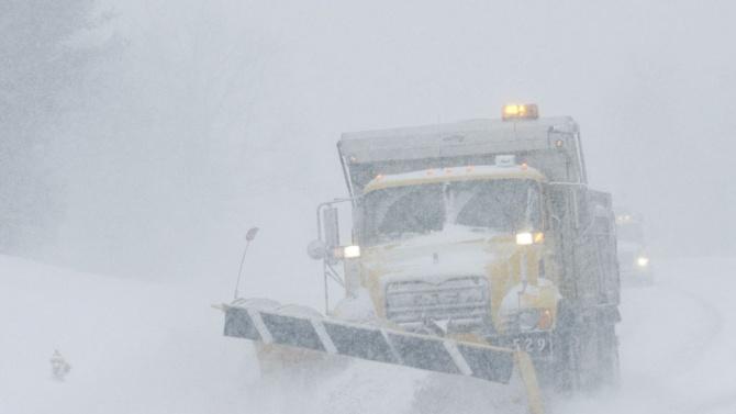 Снежна буря затрупа южните щати на САЩ
