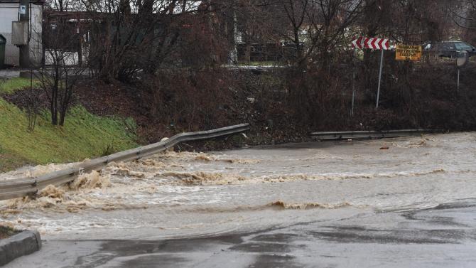 Частично бедствено положение е обявено в община Струмяни, каза областният