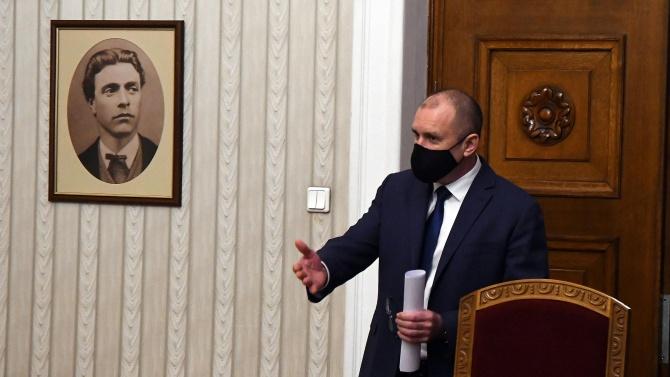 Радев започва консултации с парламентарно представени партии