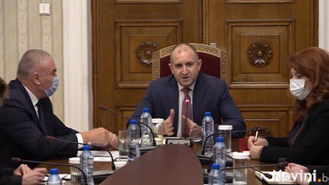 Румен Радев отвърна на Марешки: Консултациите ми не са закъснели, вие закъсняхте