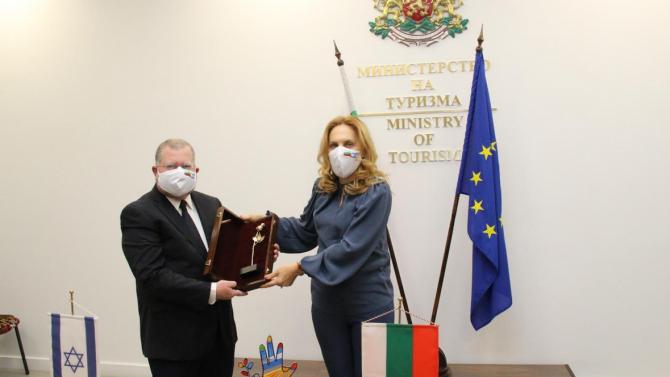 Марияна Николова се срещна с посланика на Израел у нас