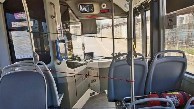 Възстановяват движението на автобусите по линия № 70