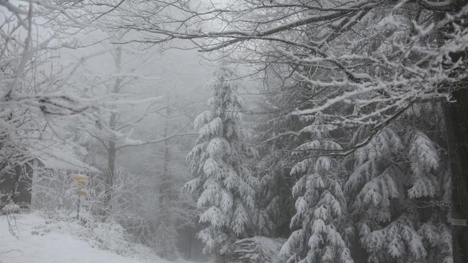 Мъгла и 40 см сняг затрудняват движението в планината в Габровско