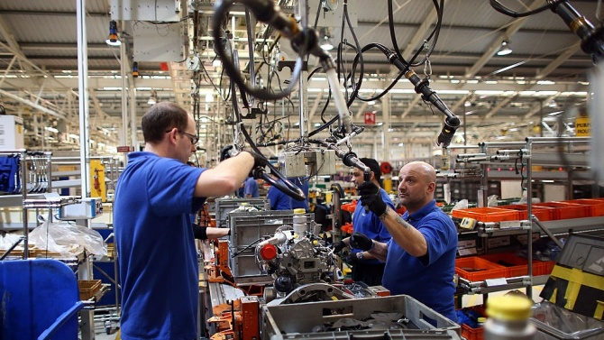 Подем на индустриалното производство в ЕС през ноември, спад в България