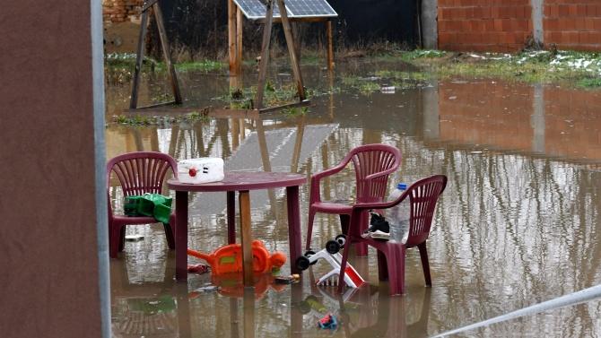 Започва описване на щетите след наводнението в Костинброд