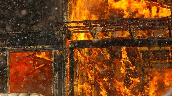 Пет жертви на пожар в блок в Хабаровск