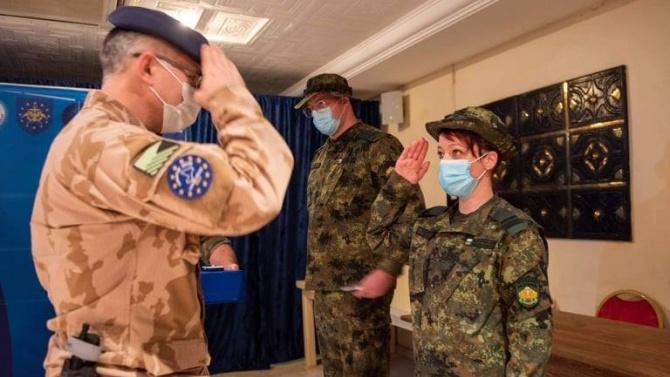 Военните ни медици в Мали с отличия за храброст