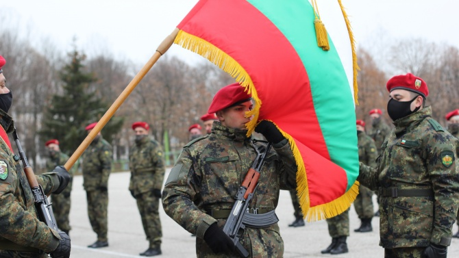 28 новоназначени военнослужещи от състава на Съвместното командване на силите положиха военна клетва